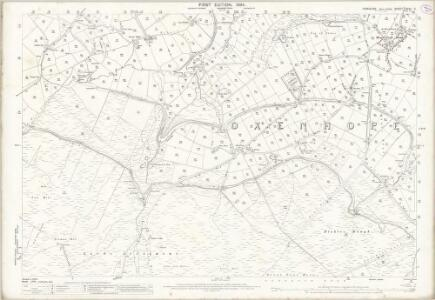 Yorkshire CCXV.2 (includes: Keighley; Wadsworth) - 25 Inch Map