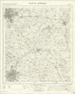 Melton Mowbray - OS One-Inch Map