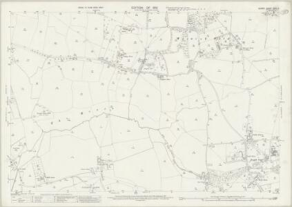 Surrey XXVII.9 (includes: Bletchingley; Merstham; Nutfield) - 25 Inch Map
