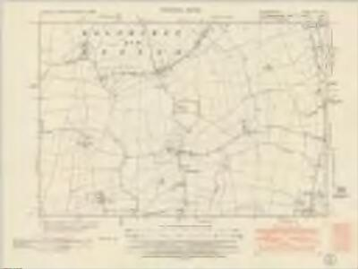 Bedfordshire VIII.NW - OS Six-Inch Map