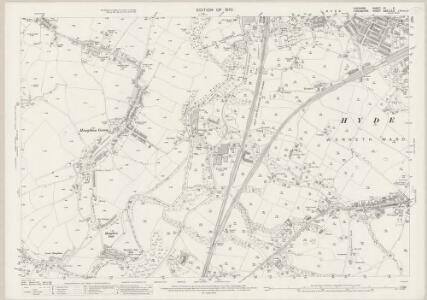 Cheshire XI.5 (includes: Bredbury and Romiley; Denton; Hyde) - 25 Inch Map