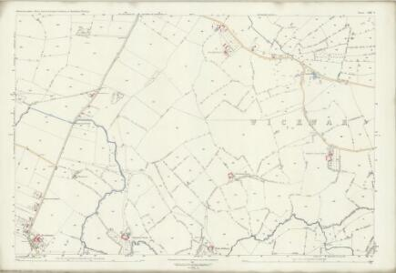 Gloucestershire LXIV.9 (includes: Cromhall; Wickwar; Yate) - 25 Inch Map