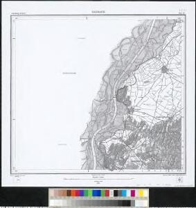 Meßtischblatt [7811] : Sasbach, 1878