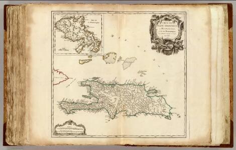 Saint Domingue ou Hispaniola, Martinique.