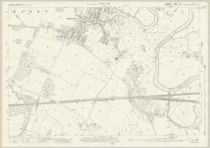 Lancashire CXI.14 (includes: Cheadle And Gatley; Manchester) - 25 Inch Map