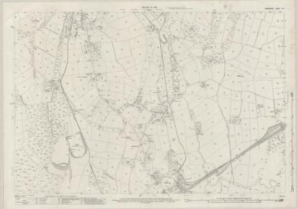 Derbyshire XL.1 (includes: Crich; Heage; South Wingfield) - 25 Inch Map