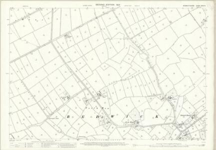 Monmouthshire XXXIV.8 (includes: Bishopston; Magor; Redwick) - 25 Inch Map
