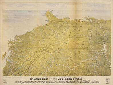Balloon View of the Southern States