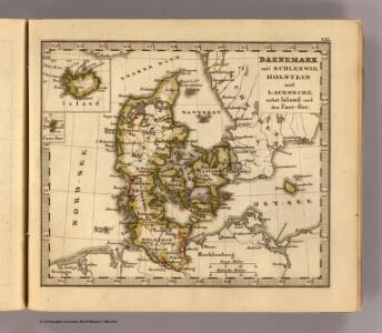 Daenemark, Schleswig, Holstein, Lauenburg, Island, Faer-Oer.