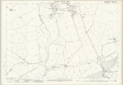 Buckinghamshire XXVII.5 (includes: Brill; Ludgershall; Piddington) - 25 Inch Map
