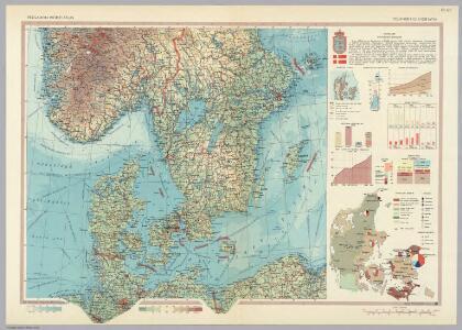 Southern Scandanavia.  Pergamon World Atlas.