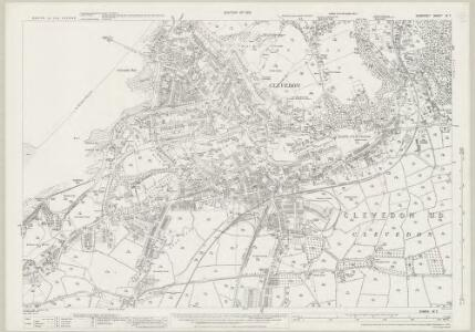 Somerset IV.7 (includes: Bristol; Clevedon) - 25 Inch Map