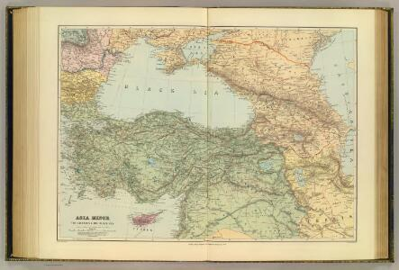 Asia Minor, Caucasus, Black Sea.