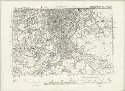 Yorkshire CCXCIV.SW - OS Six-Inch Map