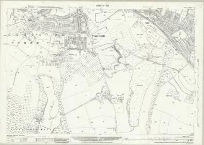 Kent X.5 (includes: Northfleet; Swanscombe) - 25 Inch Map