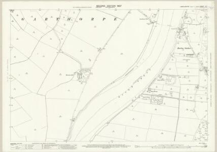 Lincolnshire X.2 (includes: Alkborough; Burton upon Stather; Garthorpe) - 25 Inch Map