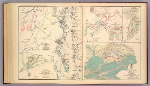 Petersburg environs; Bentonville; Carolinas; Spanish Fort.