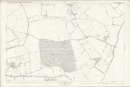 Buckinghamshire X.8 (includes: Moulsoe; Newport Pagnell; North Crawley) - 25 Inch Map