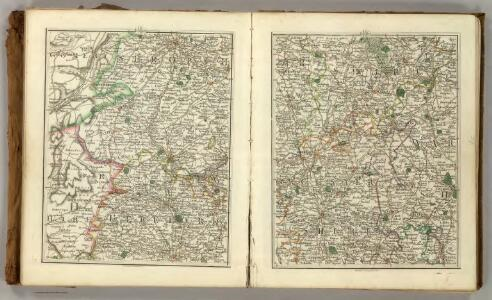 Sheets 31-32.  (Cary's England, Wales, and Scotland).