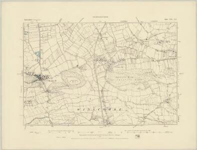 Somerset XVII.NW - OS Six-Inch Map