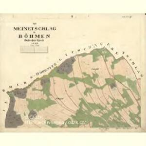 Meinetschlag - c4437-1-001 - Kaiserpflichtexemplar der Landkarten des stabilen Katasters