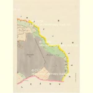 Kwaschlitz (Kwaschlice) - c3745-1-002 - Kaiserpflichtexemplar der Landkarten des stabilen Katasters