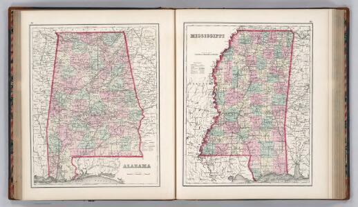 Alabama.  Mississippi.
