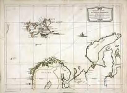 Nouvelle carte des isles de Spizbergue et des environs