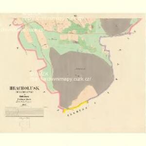 Hracholusk - c2326-1-004 - Kaiserpflichtexemplar der Landkarten des stabilen Katasters