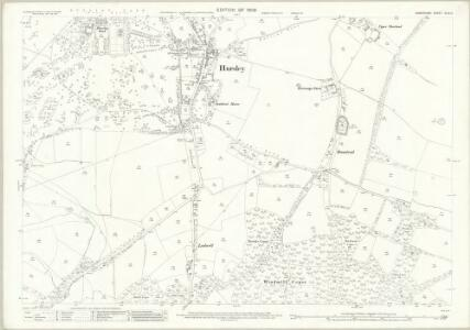 Hampshire and Isle of Wight XLIX.11 (includes: Hursley) - 25 Inch Map
