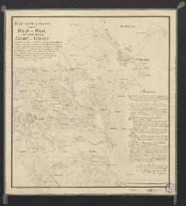 Kaa[r]t van de cituatie tussen Maas en Waal omtrent de steeden Grave en Nimegen : opgenomen ingevolge de resolutie ... in dato 3 Sept. 1754 door ... J. Pierlink ... so veel het zuijdelijke gedeelte tussen Malden ... sijnde de cituatie ten noorden van Nimmegen getrokken uit het te voren gemeeten kaartje van S. Holland en N.N. van Sügtelen 1756, verkleijnt 1792.