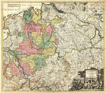 Circulus Westphaliae cum Omnibus Suis Subjacentibus Provinciis Novissima Delineatio