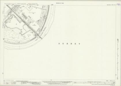 Middlesex XXI.6 (includes: Barnes; Mortlake; Wandsworth Borough) - 25 Inch Map