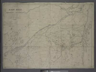 Survey of the several routes for a rail road from Ogdensburgh to Lake Champlain : made in pursuance of an act of the State of New York, passed May 14th, 1840 / by Edw H. Brodhead, chief engineer ; J.H. Jackson, H. Thomas & V. Whitney, commissrs.