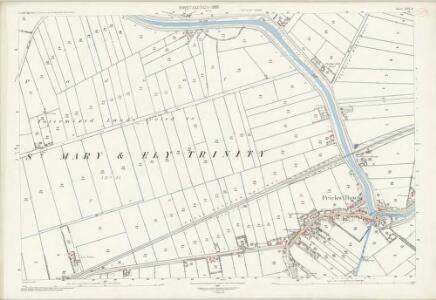 Cambridgeshire XXVI.8 (includes: Ely Holy Trinity With St Mary) - 25 Inch Map
