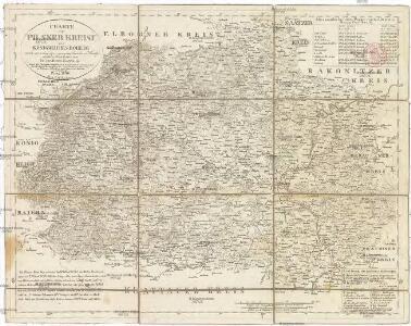 Charte vom Pilsner Kreise des Königreiches Böheim