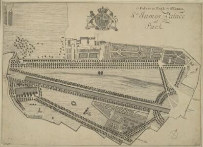 le Palais et Park de St. James. St James Palace and Park