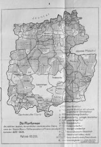 Die Flurformen des südlichen Jauntals, der nördlichen oberkrainischen Ebene, sowie der Steiner Alpen und Ost Karawanken, n.d. Franziszeischen Kataster 1825-1828