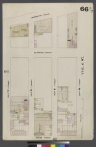Plate 66.5: Map bounded by West 22nd Street, Tenth Avenue, West 19th Street, Hudson River