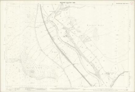 Westmorland XXXIV.4 (includes: Dillicar; Grayrigg; Sedbergh; Tebay) - 25 Inch Map