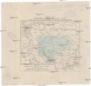 Skelet zur Übersichtskarte von Mittel-Europa im Masse 1:750 000 und zur Hypsometrischen Karte der österr[isch-] ungar[ischen] Monarchie