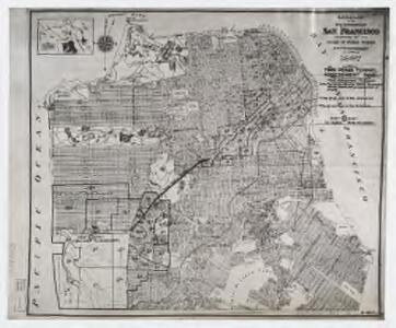Map of the City and County of San Francisco