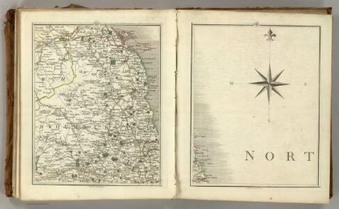 Sheets 68-69.  (Cary's England, Wales, and Scotland).