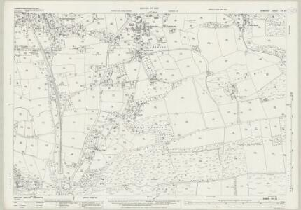 Somerset XVII.12 (includes: Axbridge; Cheddar; Compton Bishop; Shipham; Winscombe) - 25 Inch Map