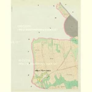 Ober Slowenitz - c2151-1-001 - Kaiserpflichtexemplar der Landkarten des stabilen Katasters