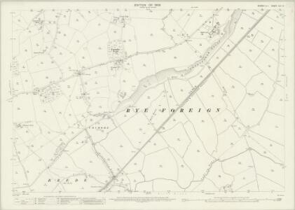 Sussex XLV.10 (includes: Icklesham; Rye; Udimore) - 25 Inch Map