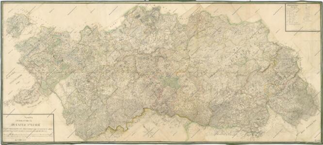 Mappa Geographica Ducatus Sylesiae