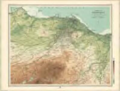 Environs of Edinburgh - Bartholomew's 'Survey Atlas of Scotland'
