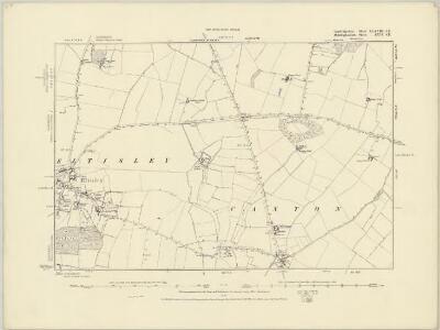 Cambridgeshire XXXVIII.SW - OS Six-Inch Map