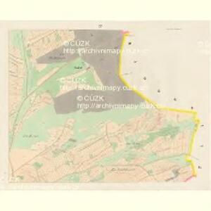 Mietschin - c4578-1-004 - Kaiserpflichtexemplar der Landkarten des stabilen Katasters